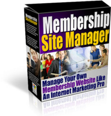 Product picture Membership Site Manager
