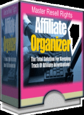 Product picture Affiliate Organizer